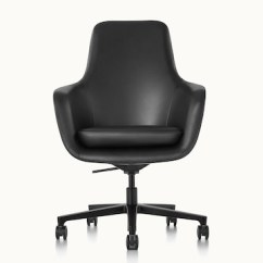 Office Chair Steel Base With Wheels Elephant High Saiba Chairs Geiger A Back Black Leather Upholstery And Five Star