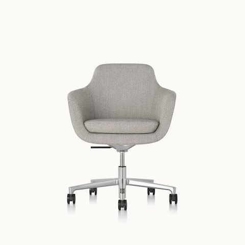 office club chairs tall task chair all seating geiger a mid back saiba with light gray upholstery and five star