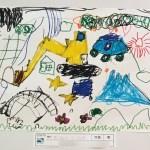 第59回「明日への手」美術展武蔵野会場の部【生徒作品紹介】