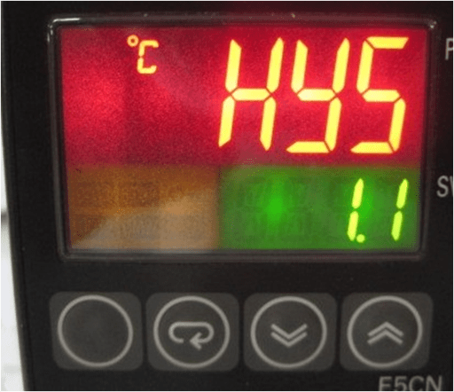ESTN LCD in an industrial equipment application