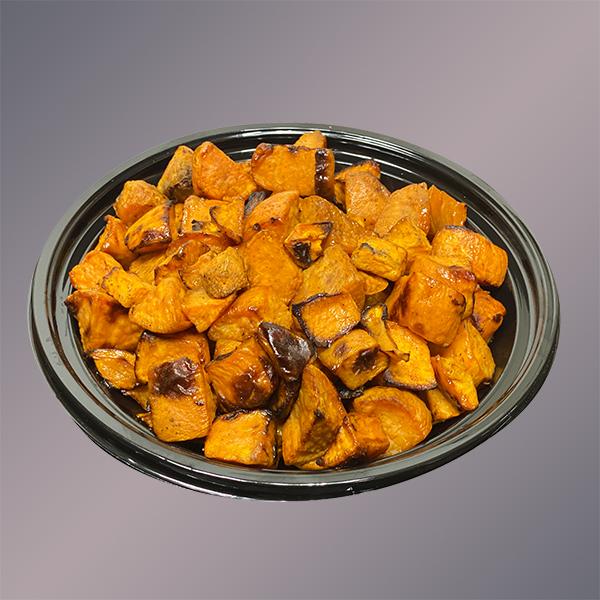 Maple Roasted Seasoned Sweet Potatoes