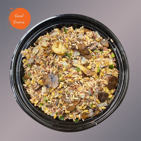 Hearty Grains & Wild Mushroom Blend (Vegan)