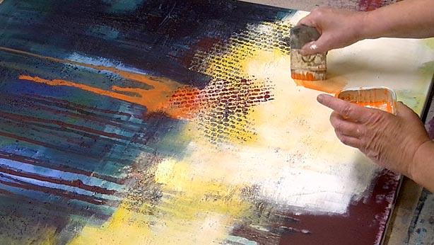 OnlineKunstschule fr abstrakte Malerei malen lernen  geistreichlernende