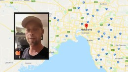 BOR I MELBOURNE:< Kjetil Klingan (41) fra Tromøy bor i Melbourne. Han var ikke i sentrum da en personbil meide ned fotgjengere torsdag ettermiddag lokal tid. Foto: Privat/Google Kart