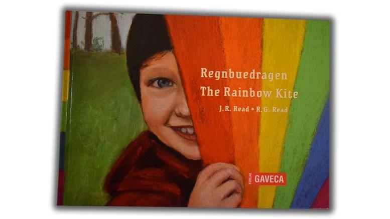 LOKAL HISTORIE: God historie og flotte illustrasjoner i historien om «Regnbuedragen».