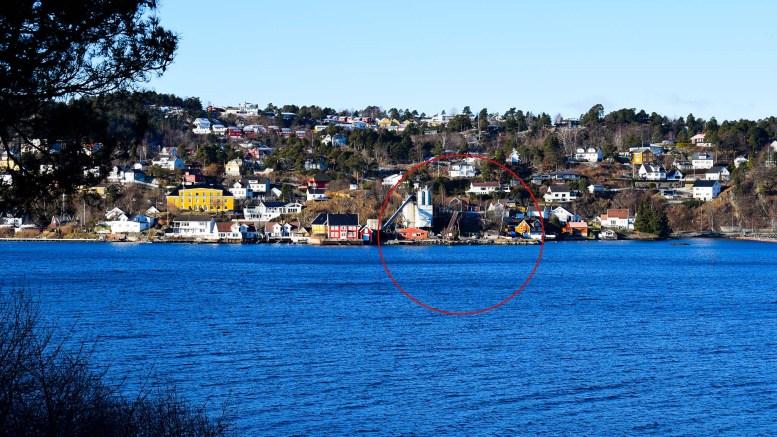 FRA NORDHEIM: Havstadodden ligger ved Tromøysund vis a vis Nordheim på Tromøy. Foto: Esben Holm Eskelund.