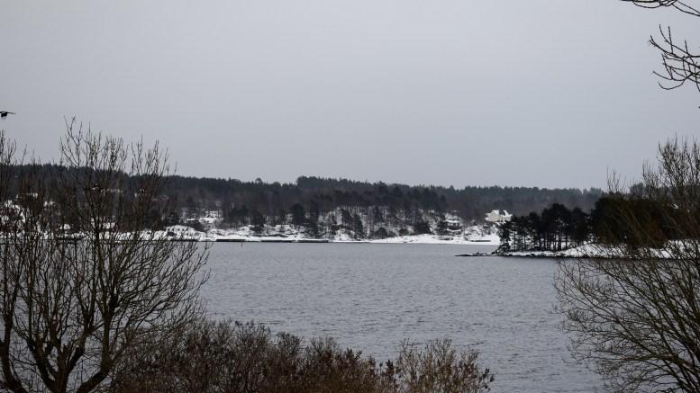SMÅBÅTMARINA: Seikilen ved Vågsnes kan bli ny småbåtmarina på Tromøy. På bildet vises Seikilen fra Trollnes på landsiden. Foto: Esben Holm Eskelund