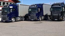 PARKERT: Transport- og logistikkfirmaet ble slått konkurs i Aust-Agder tingrett. Foto: vbgroup.no