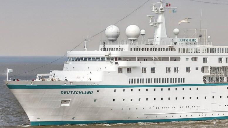 MS DEUTSCHLAND: Ankommer Arendal 23. mai. Foto: Phoenix Reisen