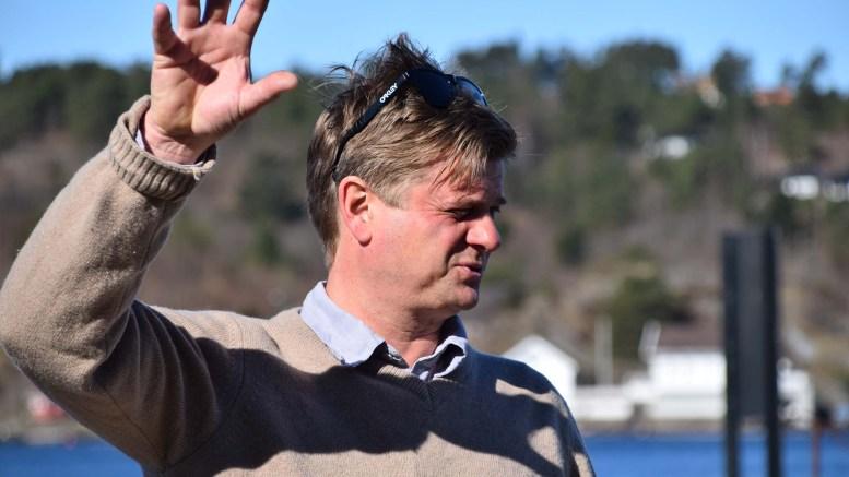 FÅR PENGER: Daglig leder Sam Bugge ved Bratteklev Skipsverft vil få glede av fortsatt tilskudd til skipsverftsmuseet neste år, om ikke bystyret finner på noen krumspring. Arkivfoto