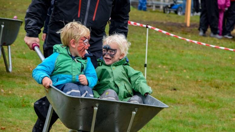 GØY PÅ LANDET: 4H Agders Gøy på landet er like moro uansett hva slags vær det årvisse arrangementet byr på. Foto: Esben Holm Eskelund