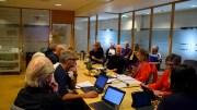 SPLITTET: De fem samarbeidspartiene har kun avtale om å holde sammen i økonomiske spørsmål. I plan- og byggesaker tar ofte Venstre og KrF andre valg enn Arbeiderpartiet, SV og i blant Senterpartiet. Foto: Esben Holm Eskelund
