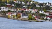 JOMFRUHOLMEN: Bystyreflertallet sier ja til riving og nybygg på en av kommunens mest eksponerte eiendommer. Arkivfoto