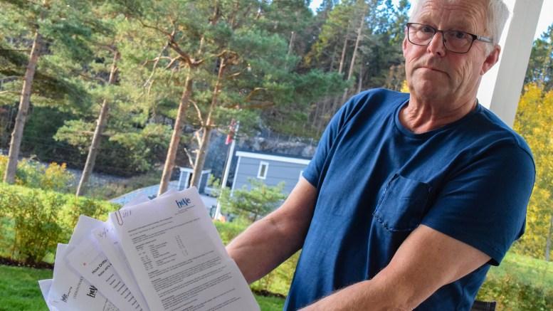 HOVE-HÅNDTERINGEN: Arild Nilsen, campinggjest på Hove, ønsker seg innrømmelser fra styret i Hove drift- og utviklingsselskap AS om håndteringen av faste leietakere. Arkivfoto: Esben Holm Eskelund