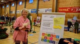 SAMFUNNSUTVIKLING: Ellen Dale leder Tromøy Frivilligsentral, som ønsker at øyas innbyggere tar et aktivt grep i samfunnsplanleggingen. Nå kalles det inn til folkemøte. Arkivfoto: Esben Holm Eskelund