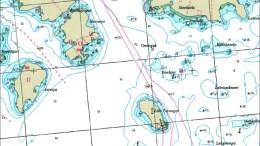 KABELSØPPEL: En telekabel, som delvis ligger i Raet Nasjonalpark på havets bunn, skal hentes opp. Kart: fra saksfremlegget