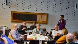 BÅLFORBUD: Innføring av bålforbud er et stort ønske hos mange aktører med interesse i Raet nasjonalpark, og ble et rykende varmt tema på et arbeidsmøte om tilrettelegging i nasjonalparken i forrige uke. Foto: Esben Holm Eskelund