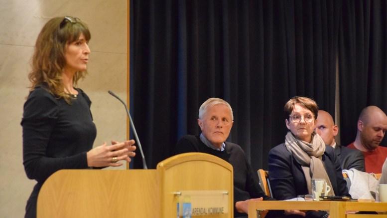 INGEN TILLITT: SV i Arendal ønsker at generalforsamlingen ber styret i HDU, med styreleder Ingunn Kilen Thomassen i spissen, om å stille sine plasser til disposisjon. Arkivfoto