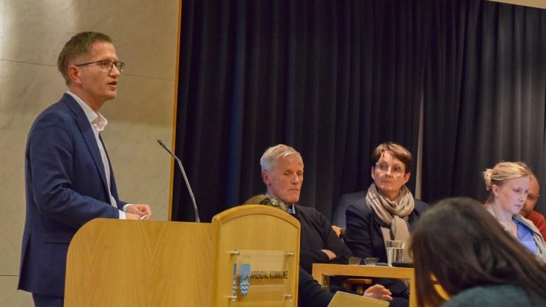BEKLAGET: Ordfører Robert C. Nordli (Ap) beklaget at han ikke hadde bedt HDU rådføre seg med generalforsamlingen på et tidligere tidspunkt. Foto: Esben Holm Eskelund