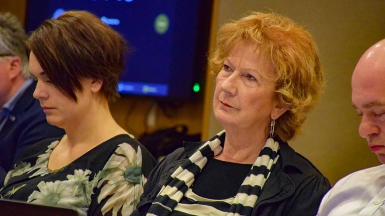 SENIORPOLITIKK: Ingrid Skårmo (Frp) taler gjerne de eldres sak i bystyrepolitikken i Arendal. Foto: Esben Holm Eskelund