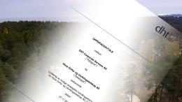 SUKSESSAVTALE: Her er avtalen som ligger til grunn for oppdraget rådgivningsselskapet DHT Corporate Services AS gjorde for Hove drifts- og utviklingsselskap AS og som utløste én million kroner i suksesshonorar. Foto: Esben Holm Eskelund/Montasje