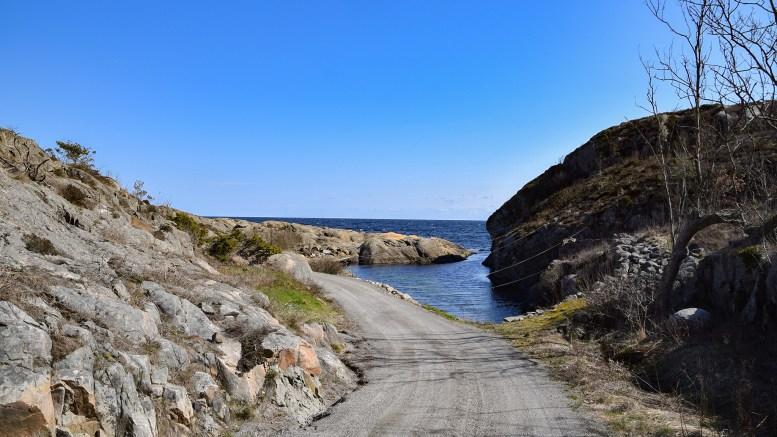 VED KROSSEN: Klove heter stedet på bildet, som ligger like ved Krossen. Foto: Esben Holm Eskelund