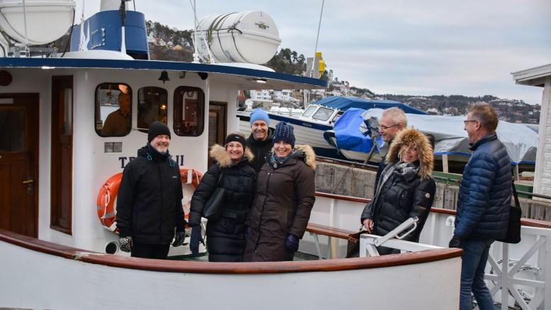 UTSLIPPSFRITT: Om tre år skal etter planen i Arendal ferjene være i offentlig regi. Da kan politikerne og alle andre reise kollektivt utslippsfritt. Arkivfoto