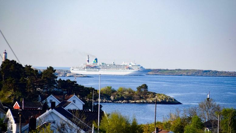 ÅPNER CRUISESESONGEN:Cruisesesongen starter i Arendal denne uka. I løpet av de neste dagene har to skip meldt sin ankomst. Arkivfoto: Esben Holm Eskelund