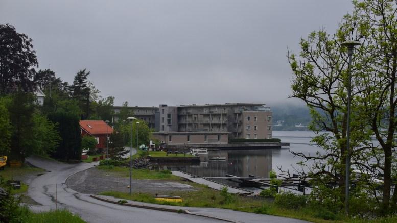NAUTHOLMEN: I dag et blokkbebygget område, i tidligere tider stor industri. Foto: Esben Holm Eskelund