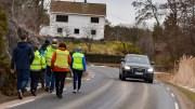 VENSTRE-STØTTE: Partiet gir støtte til Roligheden FAU og Revesand vel, og mener gang- og sykkelvei må komme på plass nå. Arkivfoto