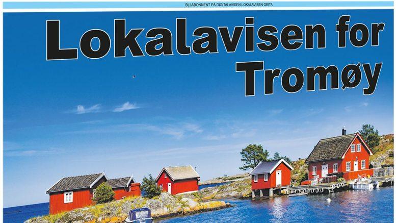 GOD SOMMER: Lokalavisen Geita distribuerer en ny papirversjon på Tromøy denne uken, et utstilingsvindu for digitalavisen som det siste året er blitt en viktigere avis.