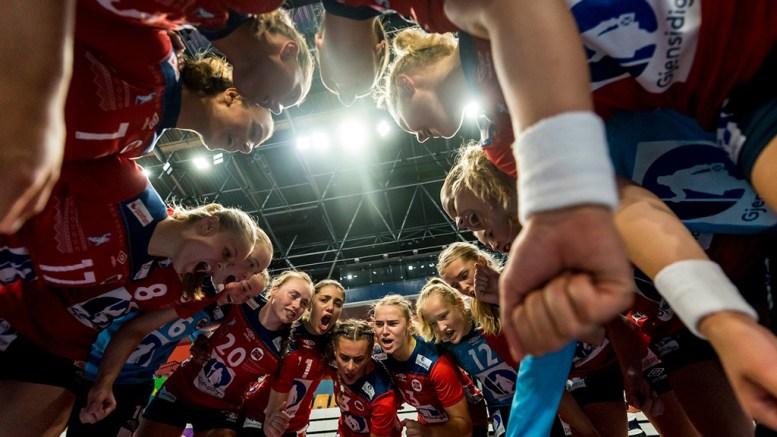 UNGDOMS-EM: De norske jentene på ungdomslandslaget for Norge klarte ikke å nå semifinale i Slovenia. Foto: Privat