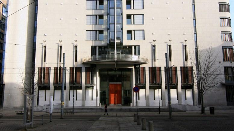 OSLO TINGRETT: Et av de alvorlige tiltalepunktene mannen står tiltalt for i Oslo tingrett (bildet) skal ha funnet sted under Hovefestivalen på Tromøy i 2011.