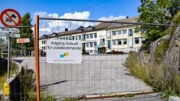 BYSTYRETBEVILGNING: Arendal eiendom KF vil ikke sette i gang riving av Roligheden skole før bystyret legger pengene på bordet. Foto: Esben Holm Eskelund