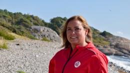 VALG 2019: Tanja Javnes Sandåker er tiendekandidat på Arendal Aps liste til lokalvalget, der kun to kandidater er fra Tromøy. Hun håper på bystyreplass. Foto: Esben Holm Eskelund