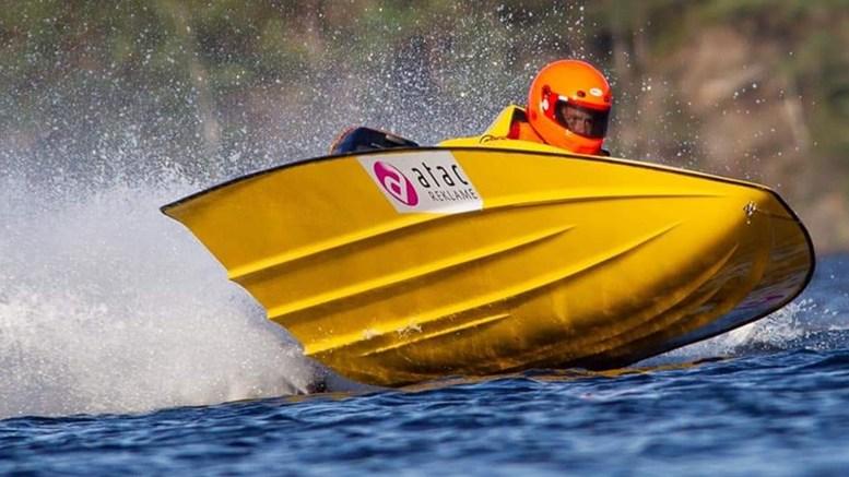 EM-DEBUTANT: Daniel Ager-Wick fra Tromøy kjørte europamesterskap i GT-15 i tyske Rendsburg i helgen. Foto: Privat