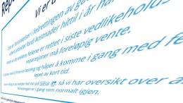 MØRKT I PENGESEKKEN: Feil på gatelys blir ikke rettet på grunn av pengemangel. Illustrasjonsfoto