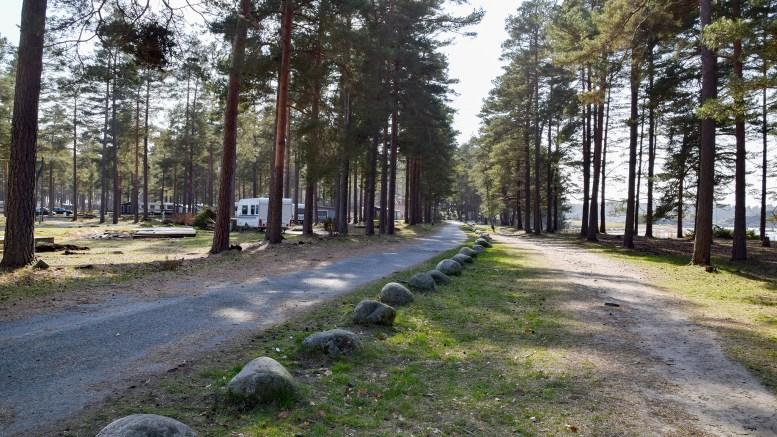 ALT MÅ VEKK: Å fjerne bare campingen vil ha liten effekt, ifølge nasjonalparkforvalter Jenny Marie Gulbrandsen. Arkivfoto