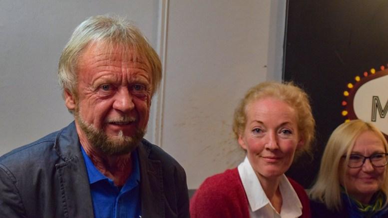 HOVELISTA: Thore Kr. Karlsen og Kristina Steenlund-Larsen i Hovelista, nykommerpartiet som får plass i bystyret. Foto: Esben Holm Eskelund