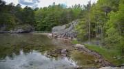 NERTE: Hit er det mulig å ta seg ut og få en flott naturopplevelse hele veien. Foto: Esben Holm Eskelund