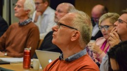 ARENDAL EIENDOM: Atle Svendal i Arendal Ap foreslås som ny styreleder i Arendal eiendom KF og gruppeleder i bystyret. Foto: Esben Holm Eskelund