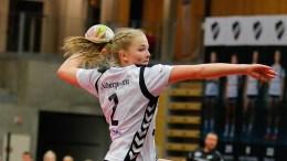 CHAMPIONS LEAUGE: Ingrid Vehusheia fra Tromøy opplever håndballeventyret for tiden. Foto: Grane Håndball / Facebook