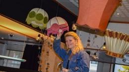 BARNEKUNSTFESTIVALEN: Festivalsjef Kirsti Kobbeltvedt har ikke tid til å hvile når årets utgave av Den fantastiske barnekunstfestivalen er blitt rigget i stand. Foto: Esben Holm Eskelund