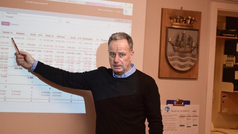 FERJETILBUDET: Havnesjef Rune Hvass mener innfasing av utslippsfrie ferjer bør skje over tid, slik at man blir kjent med drift, utfordringer og rutetilbud fra 2022. Arkivfoto