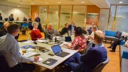 INGEN KONTROLLDEBATT: Kontrollutvalgets rapport om Hove-saken skal gå rett til bystyret, og ble ikke behandlet i formannskapet sist uke. Foto: Esben Holm Eskelund
