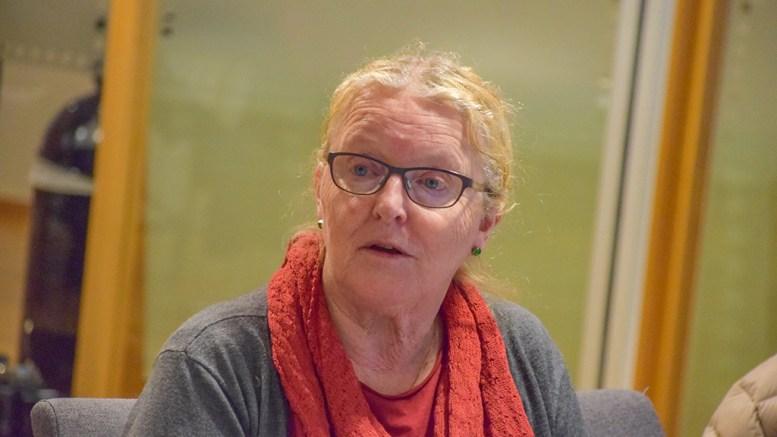 POLITIKERINNTEKT: Milly Olimstad Grundesen (Sp) er på andreplass i oversikten over politikerinntekter på Tromøy for 2018, sett ut fra de nye folkevalgte. Foto: Esben Holm Eskelund