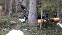 ÅRETS MEST LESTE: Helikopter-ulykken der en tromøymann ble hardt skadet er blitt mye lest, men går ikke helt til topps på lista over årets mest leste nyhetsartikler. Foto: Privat