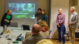SÅRBARHETSPRESENTASJON: Kommuneplanutvalget fikk sist torsdag en gjennomgang av sårbarhetskartleggingen av Hoveodden i forbindelse med reguleringsarbeidet. Foto: Esben Holm Eskelund