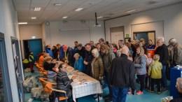 TV-AKSJONEN: Det var mange bøssebærere i sving på Tromøy i årets TV-aksjon. Før selve innsamlingen samlet FAU og skolen inn et stort beløp til formålet i en solidaritetsaksjon. Arkivfoto