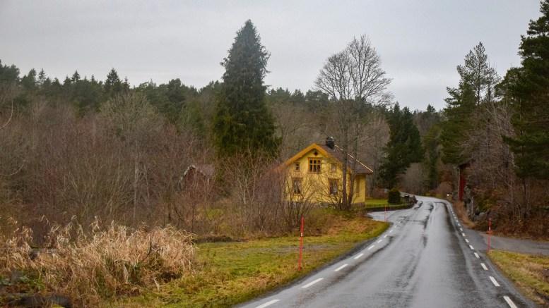 BAKKE: Navn på skrånende terreng, som ikke er uvanlig på Tromøy. Foto: Esben Holm Eskelund